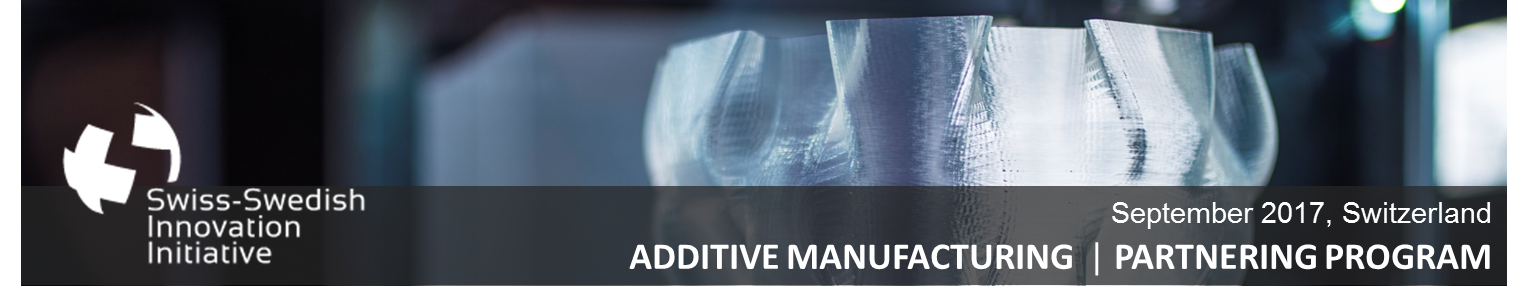 SWII2017 Additive Manufacturing Banner
